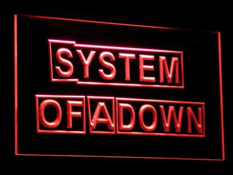 System Of A Down LED Neon Sign