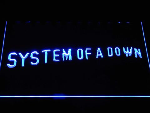 System Of A Down Toxicity LED Neon Sign