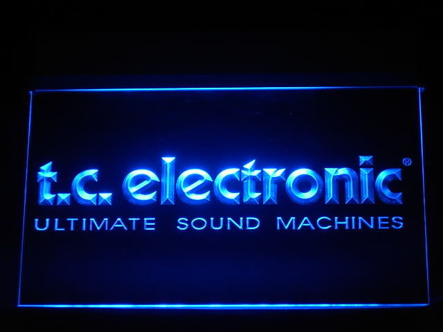TC Electronic LED Light Sign