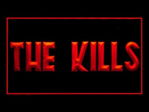 THE KILLS LED Neon Sign