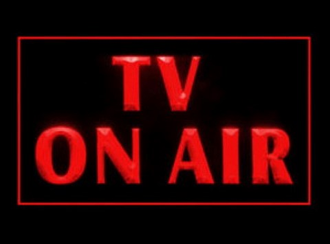 TV On Air Station LED Neon Sign