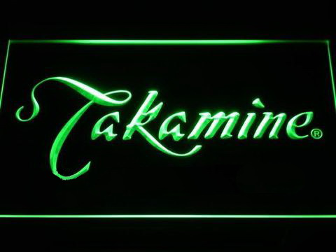 Takamine Guitar LED Sign