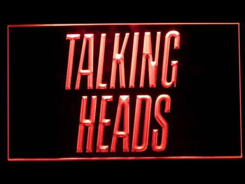 Talking Heads LED Neon Sign
