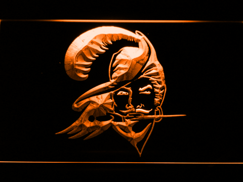 Tampa Bay Buccaneers 1976-1996 LED Neon Sign