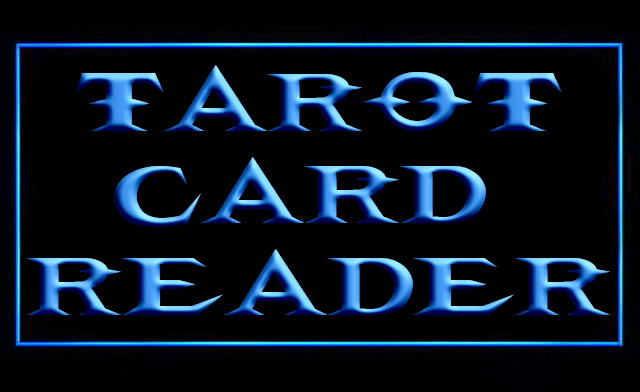 Tarot Card Reader LED Neon Sign
