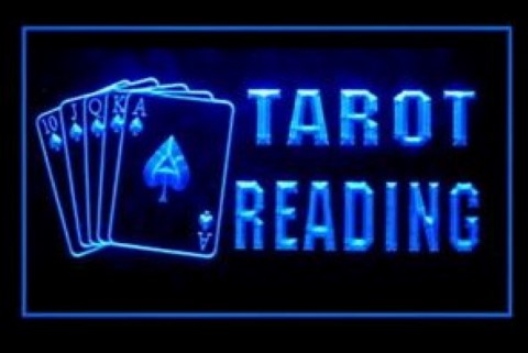 Tarot Reader LED Neon Sign