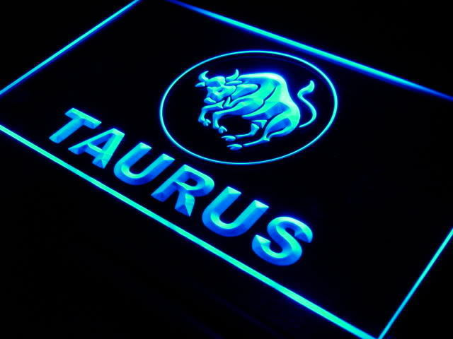 Taurus Zodiac LED Light Sign