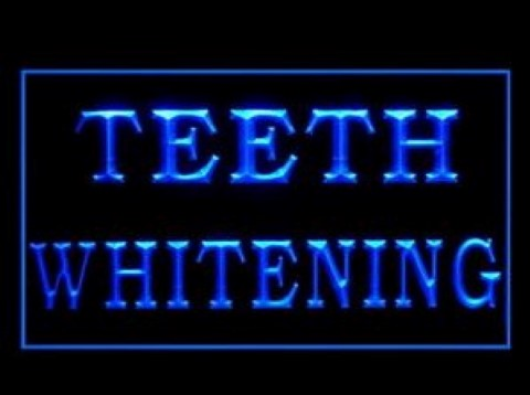 Teeth Whitening Affordable Professional LED Neon Sign