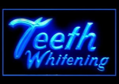 Teeth Whitening LED Neon Sign
