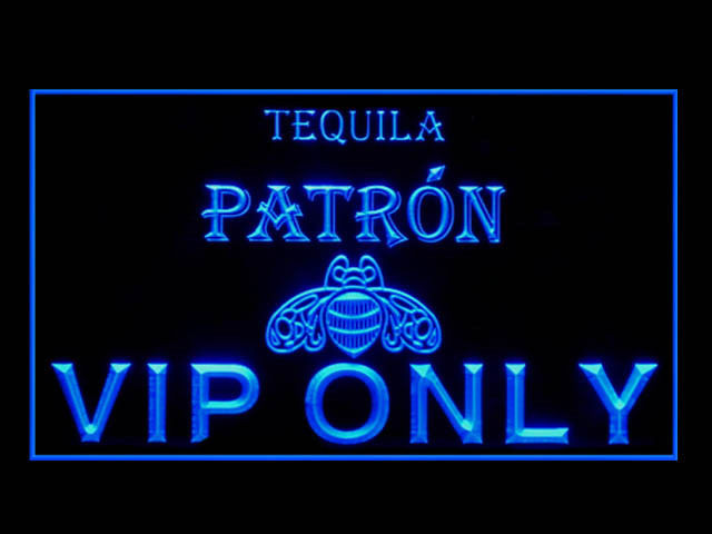 Tequila Patron VIP ONLY Neon Light Sign