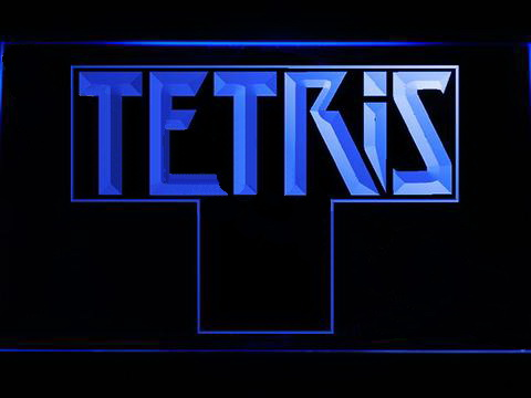 Tetris LED Neon Sign
