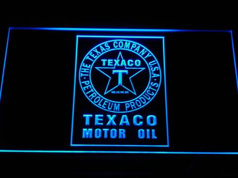 Texaco Motor Oil LED Neon Sign