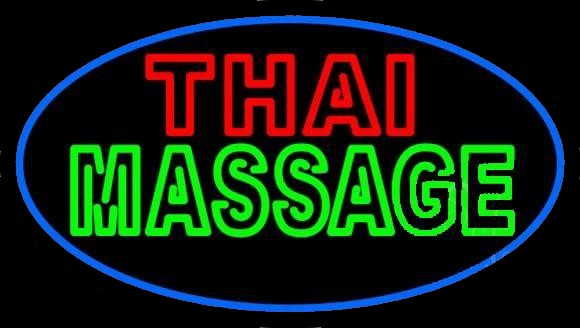 Thai Massage Neon Sign