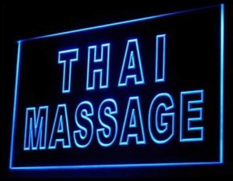 Thai Massage Spa Foot Hands LED Neon Sign