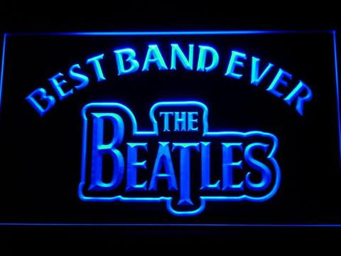 The Beatles Best Band Ever LED Neon Sign