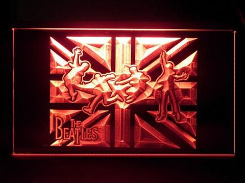 The Beatles England Jump LED Neon Sign