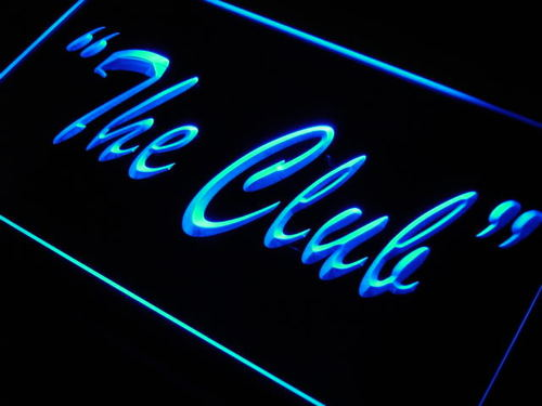 The Club Neon Light Sign