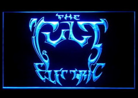 The Cult Electric LED Neon Sign