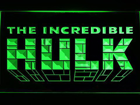 The Incredible Hulk LED Neon Sign