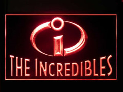 The Incredibles LED Neon Sign