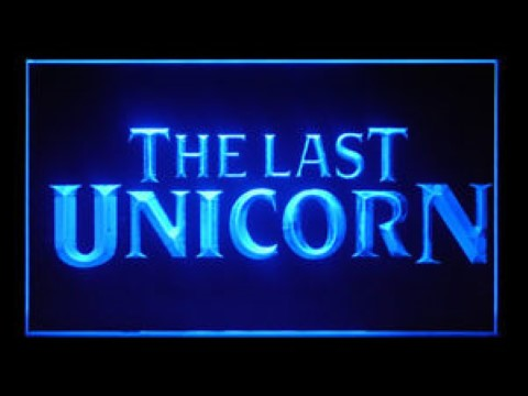 The Last Unicorn LED Neon Sign