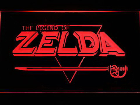The Legend of Zelda LED Neon Sign