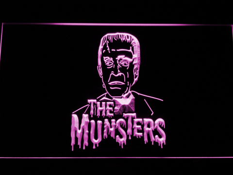 The Munsters Herman LED Neon Sign