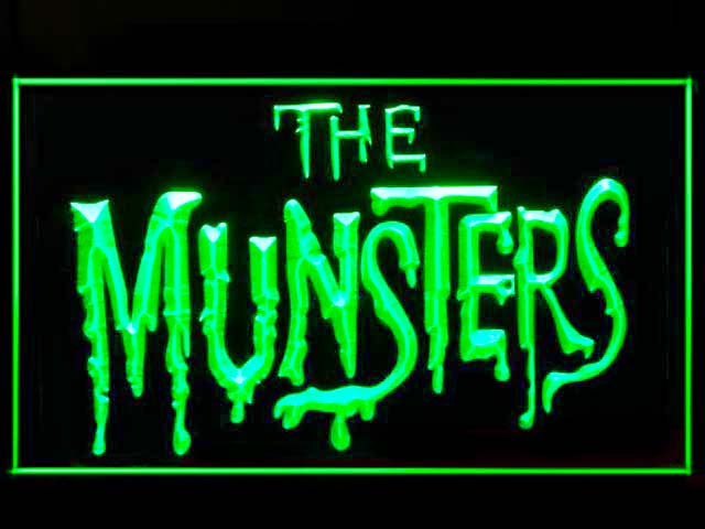 The Munsters Neon Light Sign