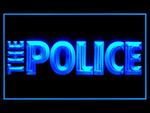 The Police LED Neon Sign