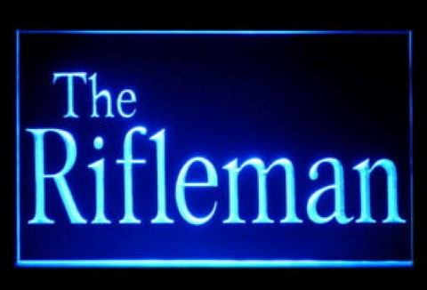 The Rifleman LED Neon Sign