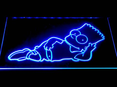 The Simpsons Bart Lounge LED Neon Sign