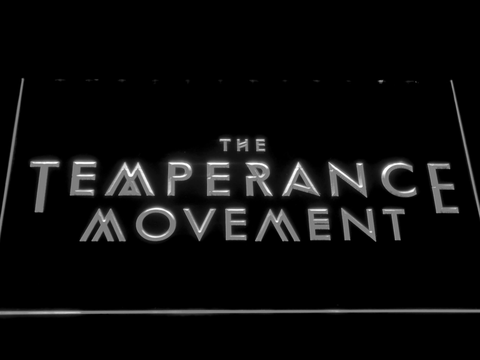 The Temperance Movement LED Neon Sign
