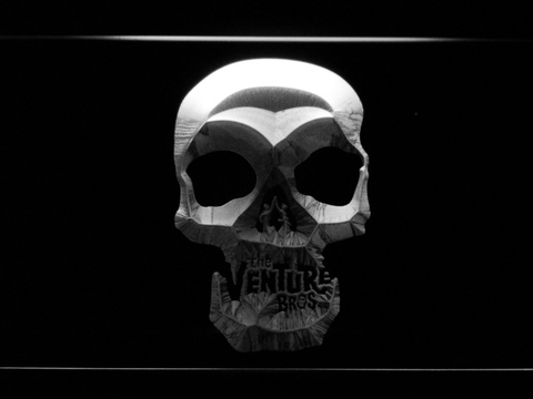 The Venture Bros. Skull LED Neon Sign