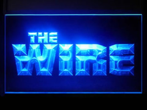 The Wire LED Neon Sign