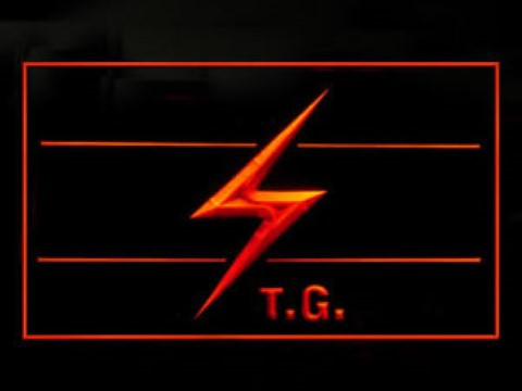 Throbbing Gristle LED Neon Sign