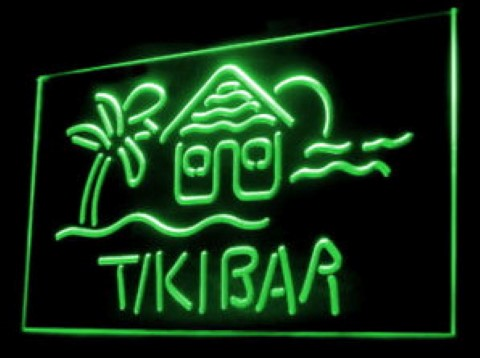 Tiki Bar Party LED Neon Sign