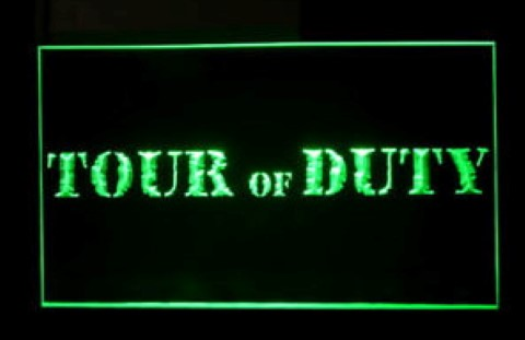 Tour of Duty LED Neon Sign