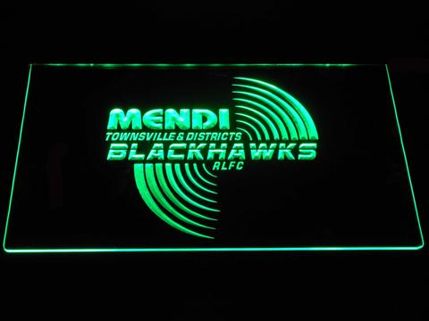 Townsville Blackhawks LED Neon Sign
