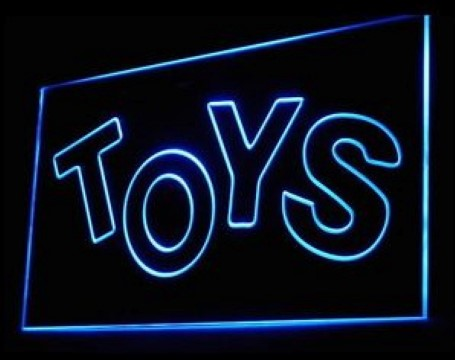 Toys Shop Company LED Neon Sign