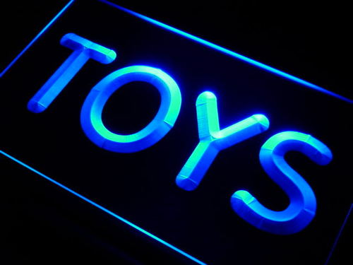 Toys Shop Neon Light Sign