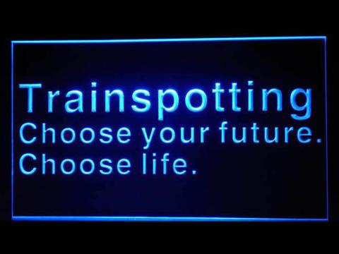 Trainspotting LED Neon Sign