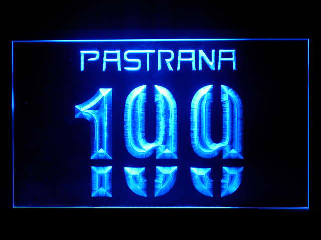 Travis Pastrana LED Light Sign