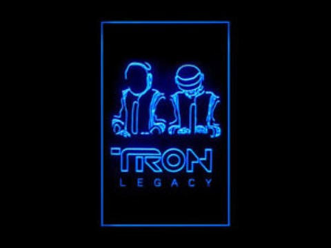 Tron Legacy Daft Punk LED Neon Sign