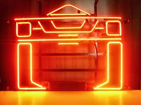 Tron Red Classic Neon Light Sign 17 x 14