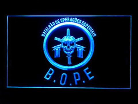 Tropa De Elite Bope For Game Room 2 LED Neon Sign
