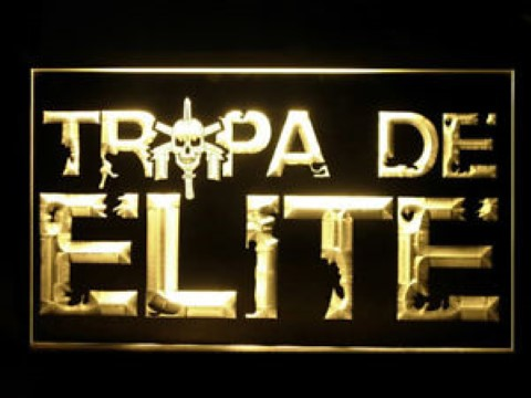Tropa De Elite Bope For Game Room LED Neon Sign