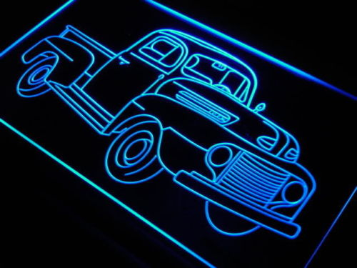 Truck Vintage LED Light Sign