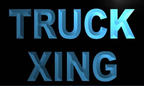 Truck Xing Neon Light Sign