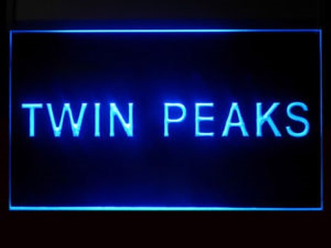 Twin Peaks LED Neon Sign