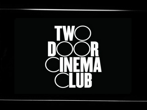 Two Door Cinema Club LED Neon Sign